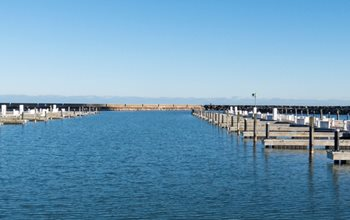 Marina in Port Washington, WI