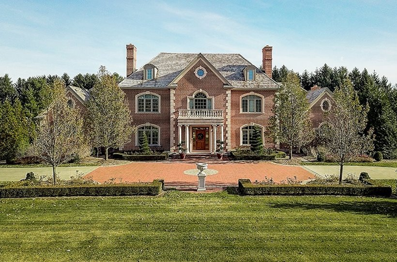 View of Luxury Home in Country