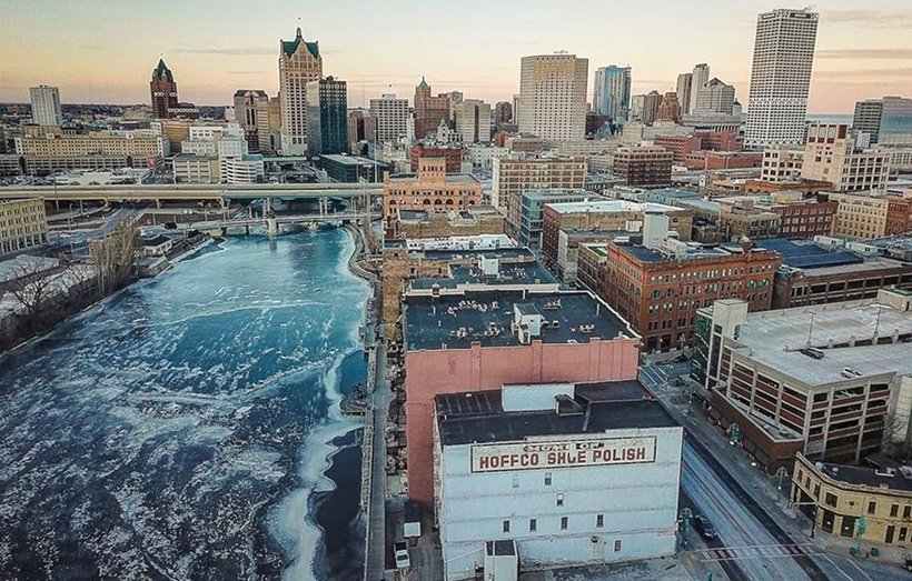 View of Downtown Milwaukee, WI