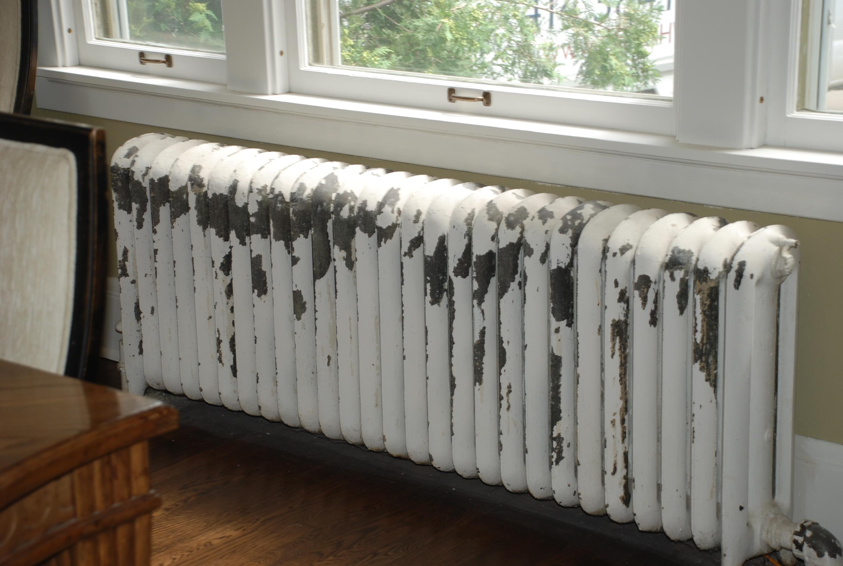 Old House Replacing Radiators With Forced Air